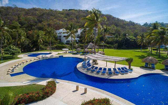 Hotel Camino Real Zaashila Huatulco, disfruta de su alberca al aire libre
