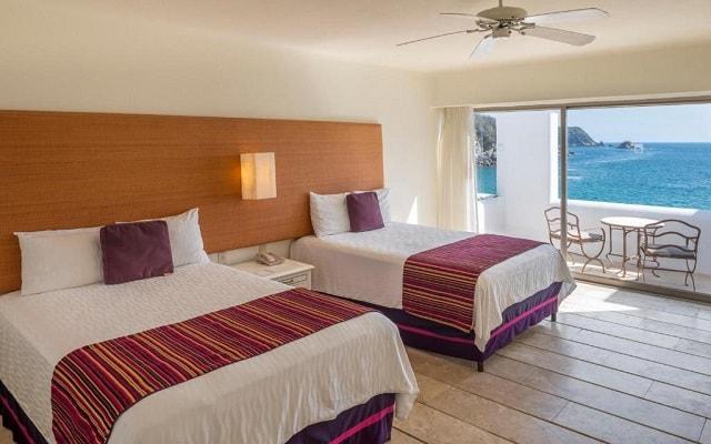 Hotel Camino Real Zaashila Huatulco, habitaciones con todas las amenidades