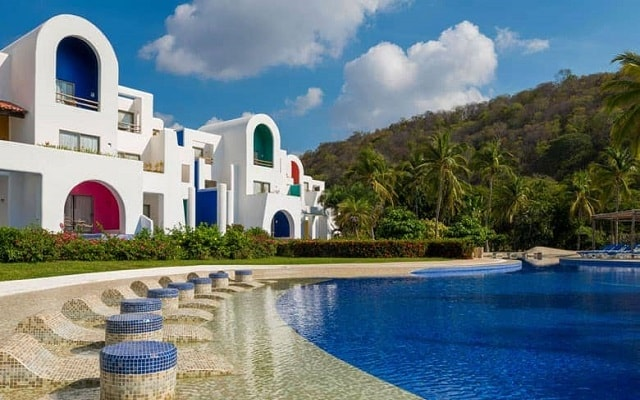Hotel Camino Real Zaashila Huatulco, ambientes fascinantes