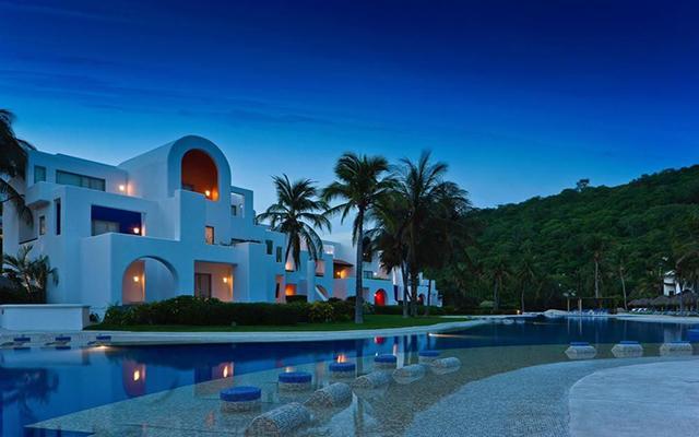 Hotel Camino Real Zaashila Huatulco, hermosa vista nocturna