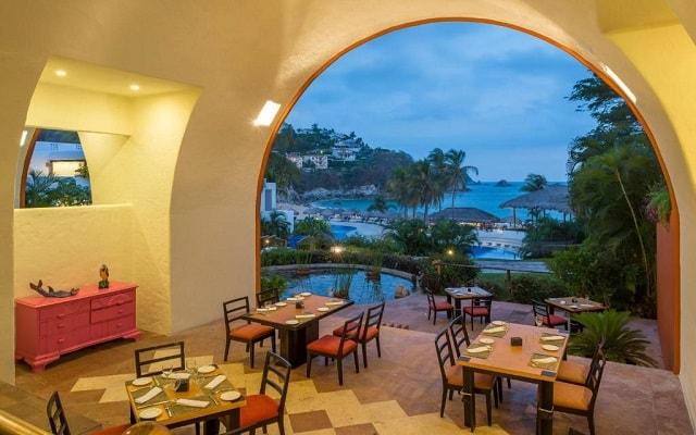 Hotel Camino Real Zaashila Huatulco, escenario ideal para disfrutar de los alimentos