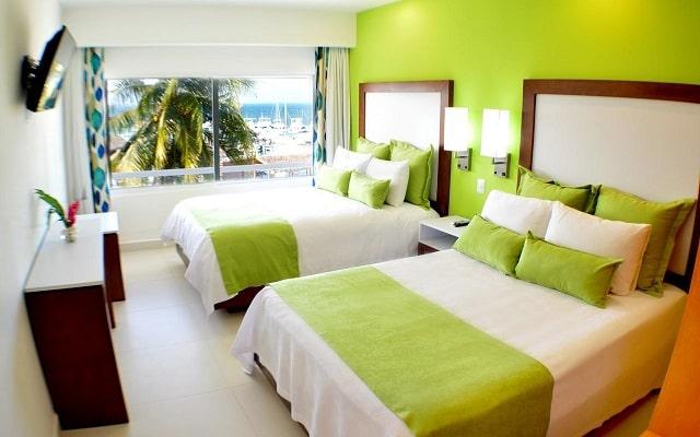 Hotel Cancun Bay Resort All Inclusive, luminosas habitaciones