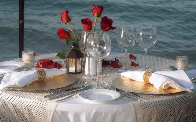 Hotel Cancún Bay Resort ofrece cenas románticas con costo adicional