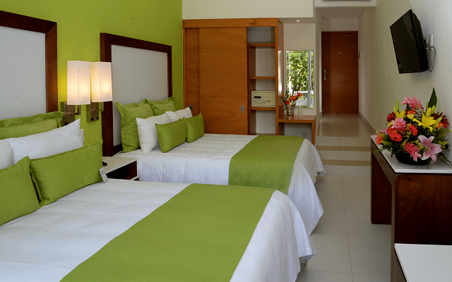 Hotel Cancún Bay Resort, habitaciones cómodas