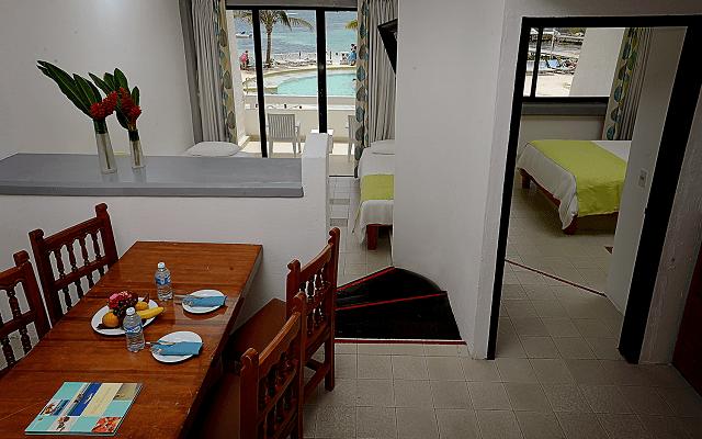 Hotel Cancún Bay Resort dispone de habitaciones para familias