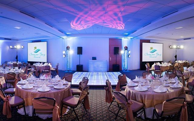 Hotel Cancún Bay Resort tiene un salón de eventos