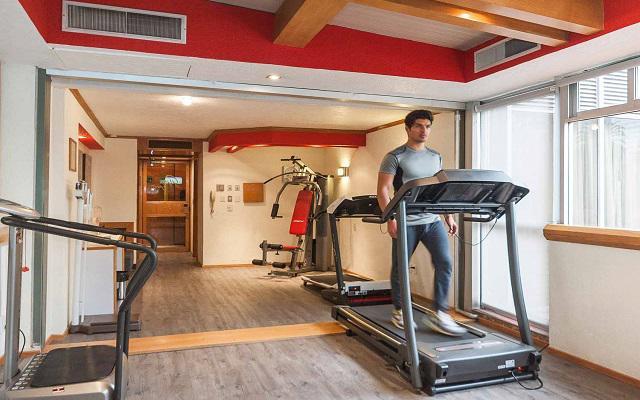Hotel Casa Blanca by Reforma Avenue, gimnasio de uso exclusivo