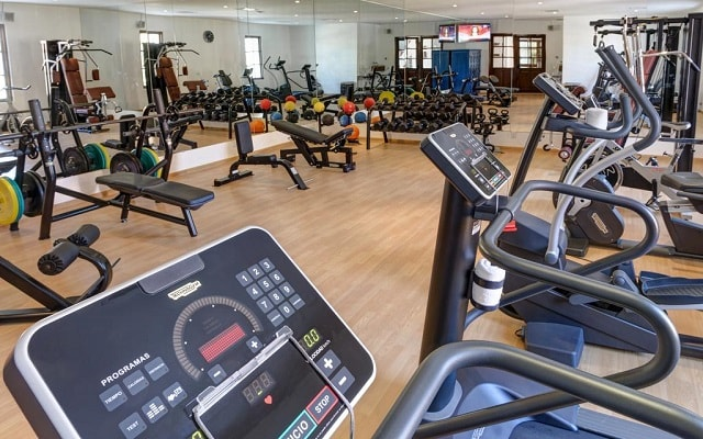 Hotel Casa del Mar Golf Resort & Spa, gimnasio abierto las 24 hs