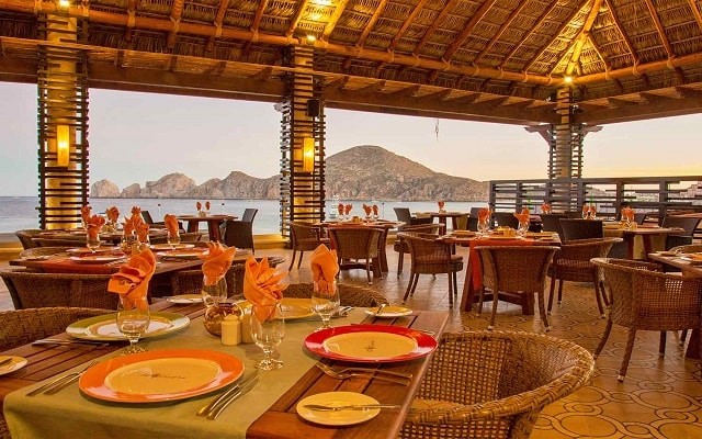 Hotel Casa Dorada Los Cabos, gastronomía de calidad