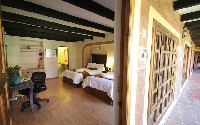 Hotel Casa Mexicana, habitaciones bien equipadas