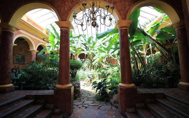 Hotel Casa Mexicana, arquitectura colonial