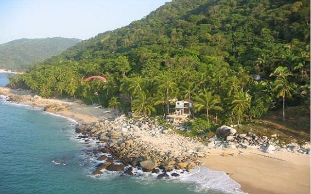 Hotel Casitas Maraika en Boca de Tomatlán