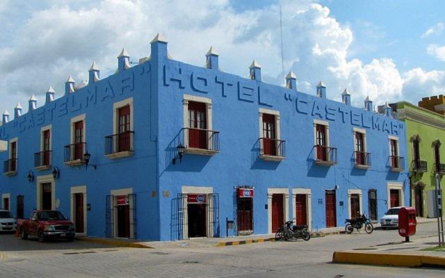 Hotel Castelmar en Campeche Ciudad