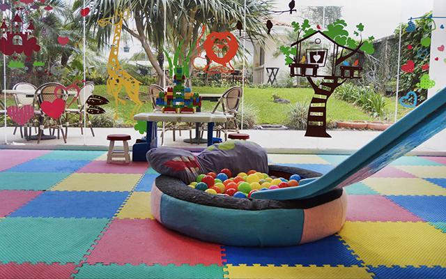Hotel Castelo, juegos infantiles