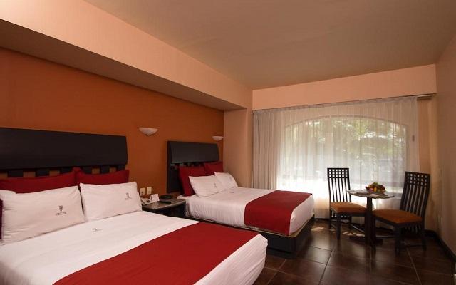 Hotel Celta, amplias y luminosas habitaciones