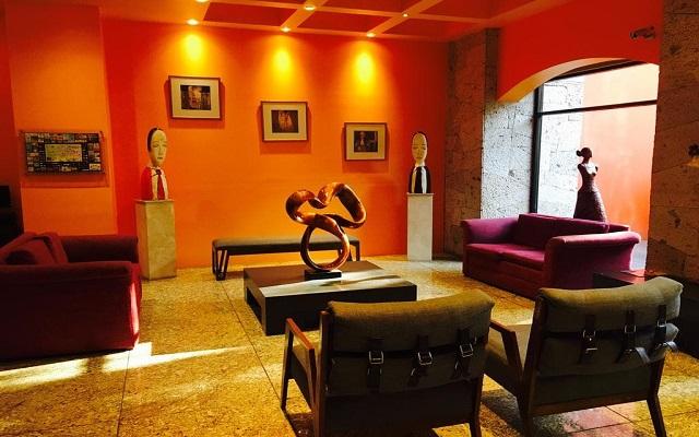 Hotel Celta, lobby