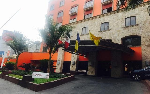 Hotel Celta, buena ubicación