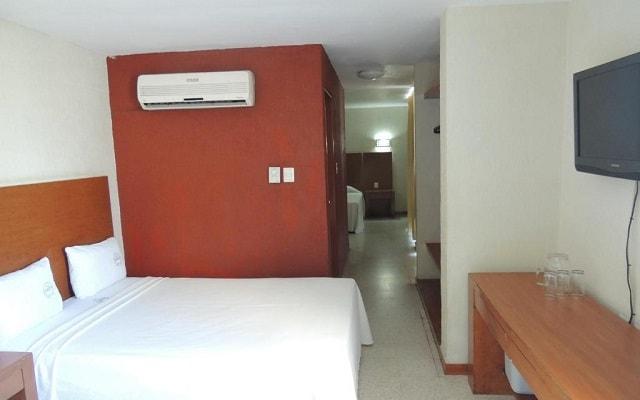 Hotel Central Veracruz, habitaciones bien equipadas