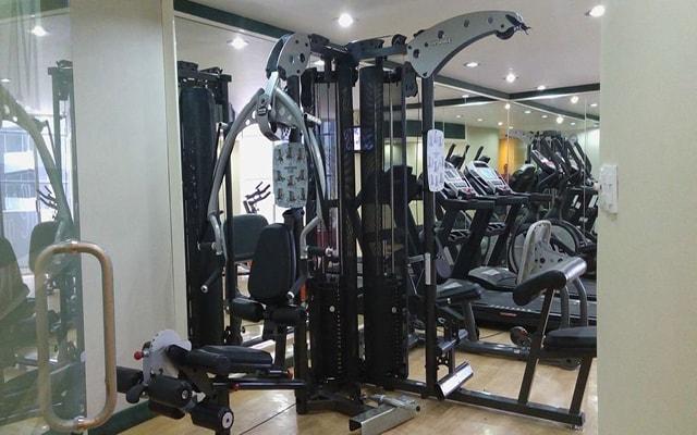Hotel Century Zona Rosa, gimnasio para uso exclusivo