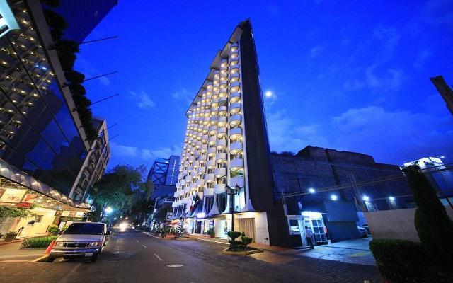 Hotel Century Zona Rosa, hermosa vista nocturna