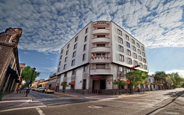 Hotel Cervantes en Guadalajara Ciudad