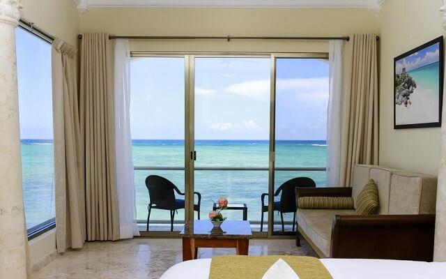 Hotel Cielo Maya, algunas habitaciones cuentan con vista al mar