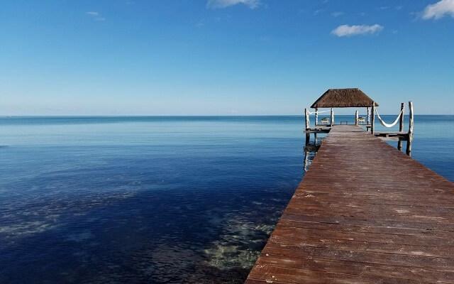Hotel Cielo Maya, muelle