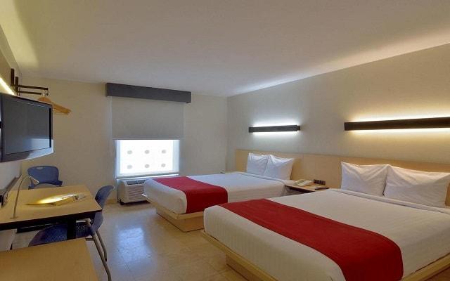 Hotel City Express en Cancún, espacios diseñados para tu descanso