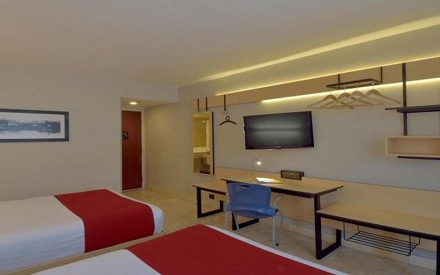 Hotel City Express en Cancún, habitaciones bien equipadas