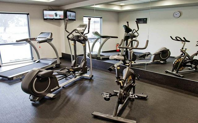 Hotel City Express Central de Abastos, gimnasio