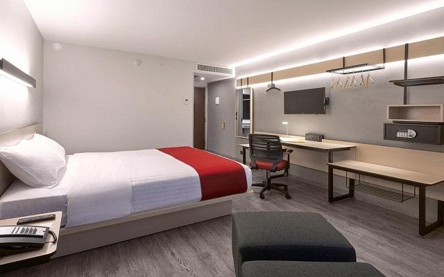 Hotel City Express Ciudad de México Aeropuerto, amplias y confortables habitaciones