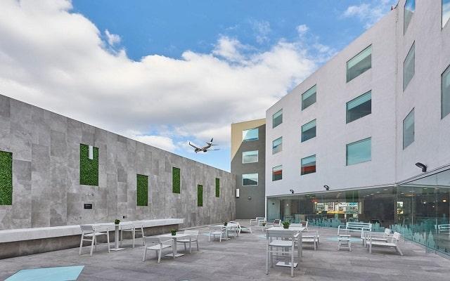 Hotel City Express Ciudad de México Aeropuerto, espacios que te invitan a disfrutar de buena compañia