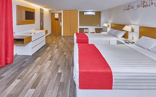 Hotel City Express Ciudad de México Alameda, habitaciones con todas las amenidades