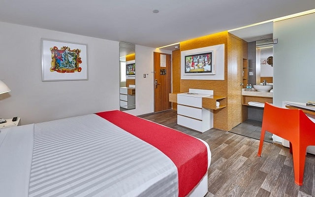 Hotel City Express Ciudad de México Alameda, habitaciones bien equipadas