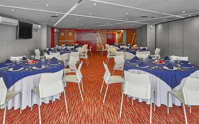 Hotel City Express Ciudad de México Alameda, salón de eventos