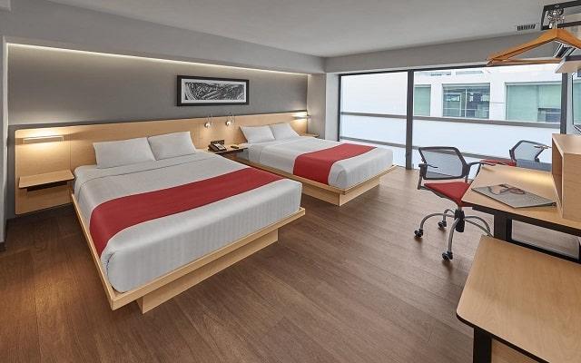 Hotel City Express EBC Reforma, amplias y luminosas habitaciones