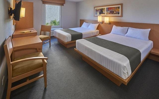 Hotel City Express Hermosillo, habitaciones cómodas y acogedoras
