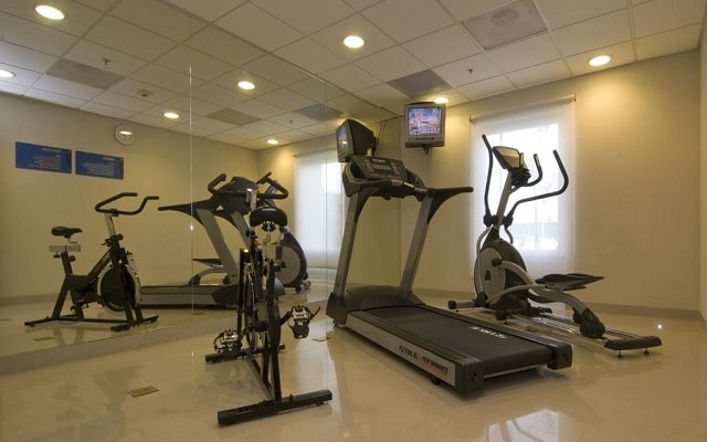 Hotel City Express Junior Cancún, gimnasio