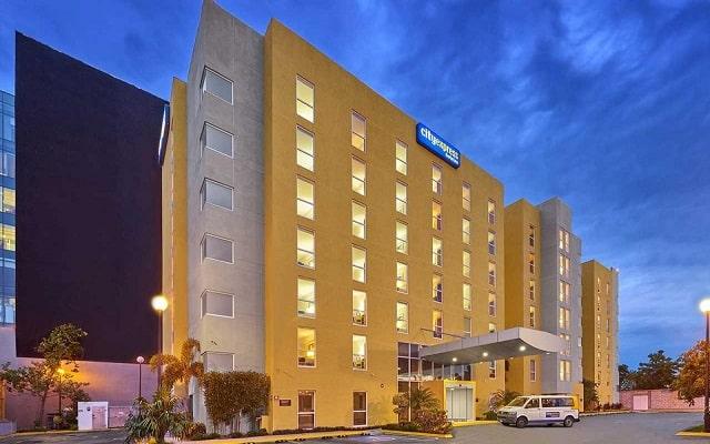 Hotel City Express Mérida, buena ubicación