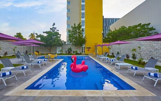 Hotel City Express Mérida, disfruta de su alberca al aire libre
