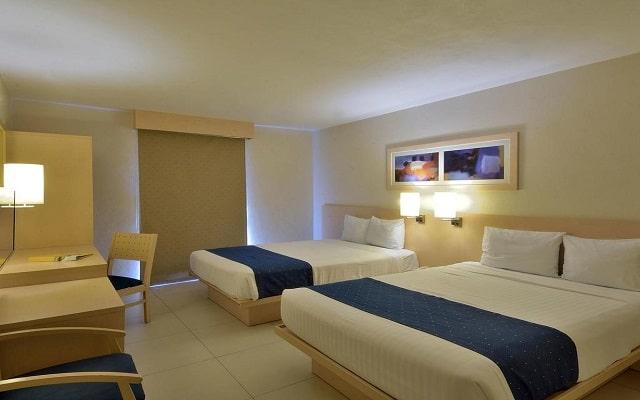 Hotel City Express Playa del Carmen, amplias y acogedoras habitaciones
