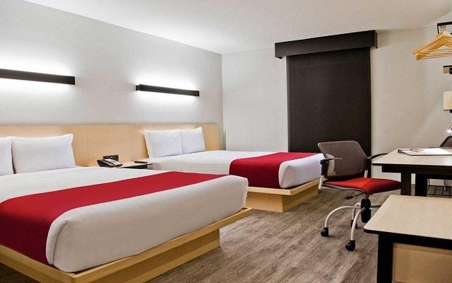 Hotel City Express Plus Guadalajara Palomar, amplias y luminosas habitaciones