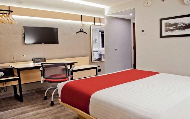 Hotel City Express Plus Guadalajara Palomar, habitaciones bien equipadas