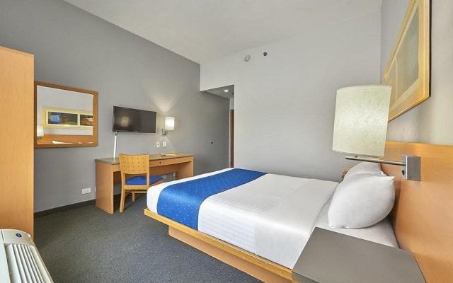 Hotel City Express Reynosa, habitaciones bien equipadas
