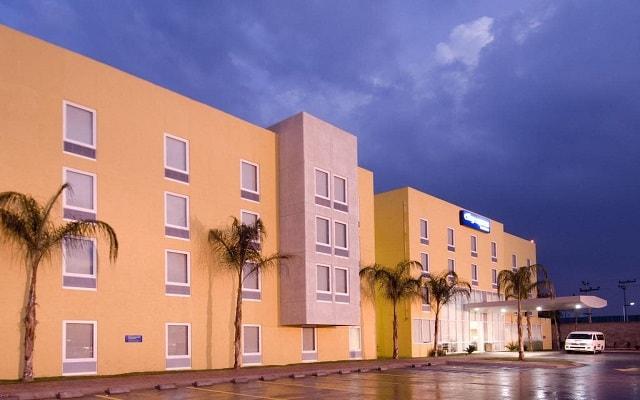 Hotel City Express Tepotzotlán, buena ubicación