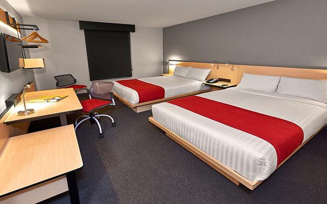 Hotel City Express Toluca, habitaciones bien equipadas