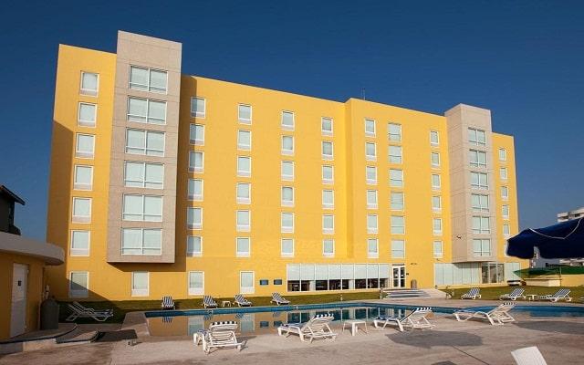 Hotel City Express Veracruz, buena ubicación