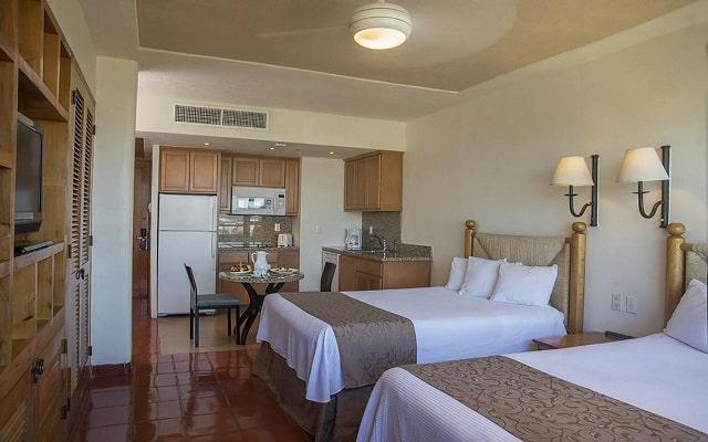 Hotel Club Regina Puerto Vallarta, habitaciones bien equipadas