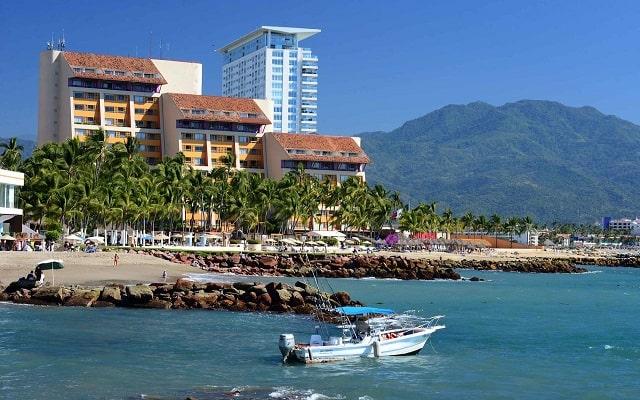 Hotel Club Regina Puerto Vallarta, buena ubicación