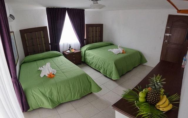 Hotel Cohiba Party, cómodas habitaciones